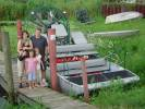 Ann, John, Jack, Isabel & Grace by the Airboat We Rode