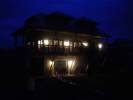Night View of House Where We Stayed