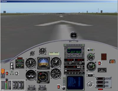 X-Plane Screenshot: Cockpit